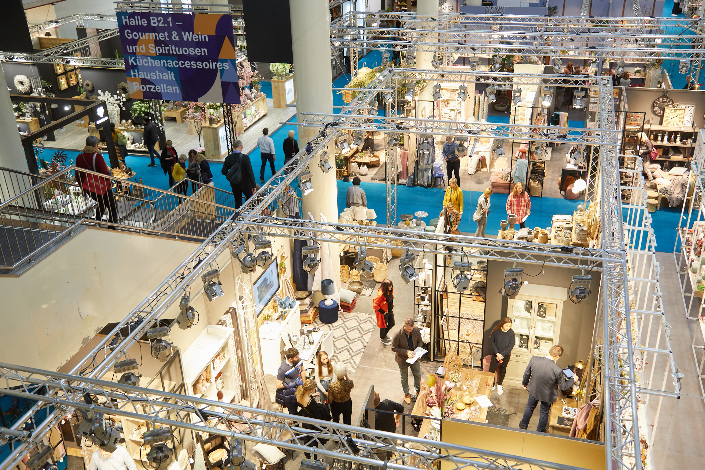 Despite Corona a safe haven for good business: The exhibition halls at Nordstil